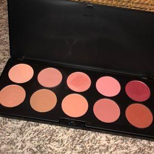 bb cosmetics blush palette! 10 super pretty colors